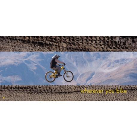 """Mikrofaser Sporttuch / Strandtuch """"Mountainbike"""""""