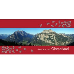 "Mikrofaser Sporttuch / Strandtuch ""Glarner Panorama"""