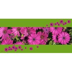 "Mikrofaser Sporttuch / Strandtuch ""Blumen"""